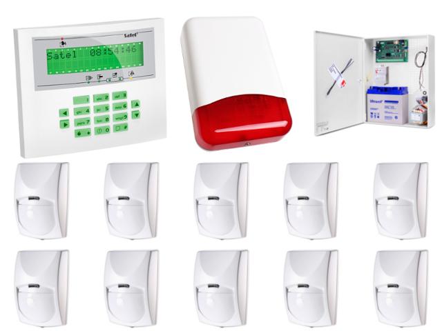 Zestaw alarmowy Integra 64 + 5 urządzeń