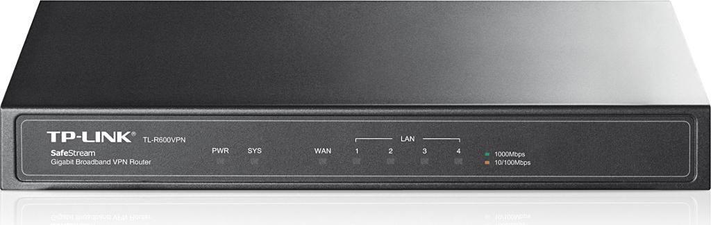 TP-LINK TL-R600VPN ROUTER  1xWAN 4xLAN GIGABIT