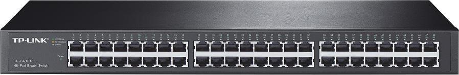 SWITCH TP-LINK TL-SG1048 RACK 1000MBPS