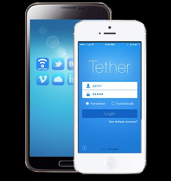 Łatwe zarządzanie siecią — Aplikacja TP-LINK Tether