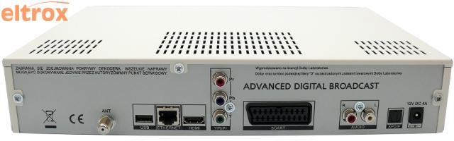 telewizja na kartę hd tuner hdtv ADB ITI 5800 S
