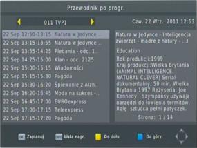 PRV Nagrywarki sygnału telewizji cyfrowej HD