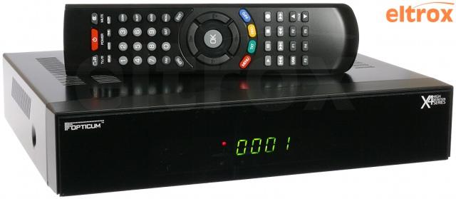 TUNER CYFROWY OPTICUM X406p MPEG2, MPEG4, DVB-S, DVB-S2 HDMI, EURO,USB, LAN GRATIS KABEL HDMI-HDMI