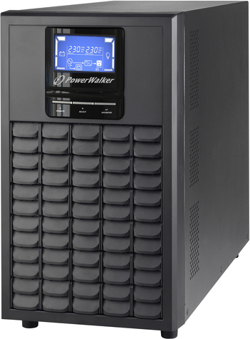 UPS ON-LINE<br />POWER WALKER VFI LCD<br />3000VA, 2400W