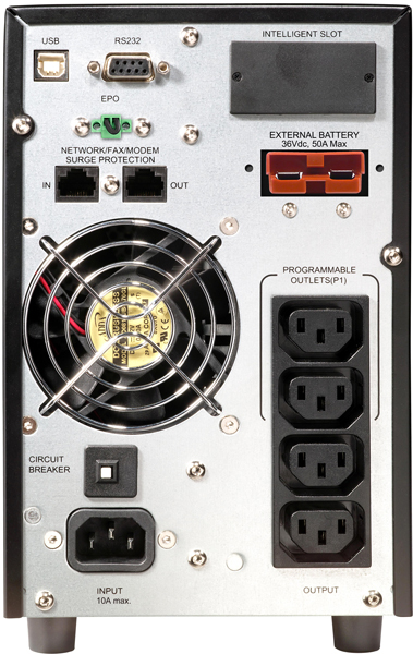 UPS ON-LINE POWER WALKER VFI 1000 LCD 1000VA, 800W
