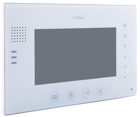 Opis monitora wideodomofonu Vidos M670W-S2