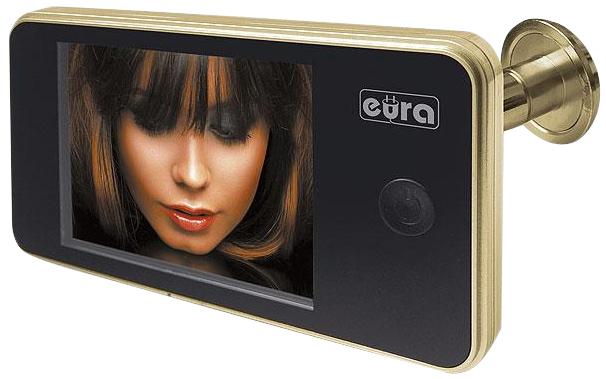 WIDEO-WIZJER LCD 3,2''  EURA VDP-01C1 ZŁOTY 1072