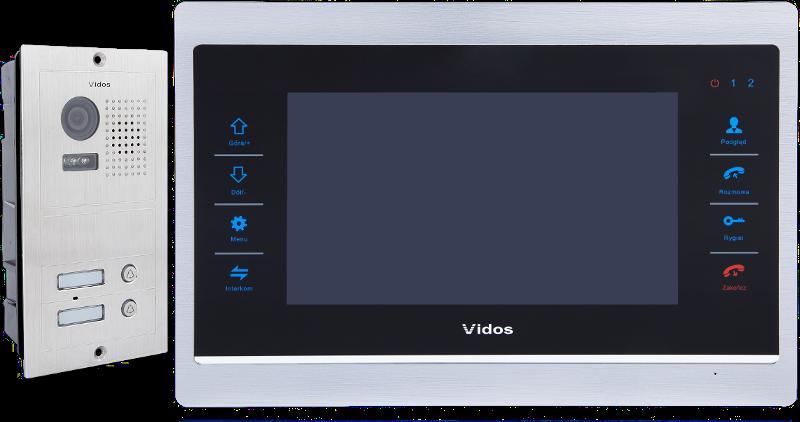 Wideodomofon Vidos 2 rodzinny M901/S602