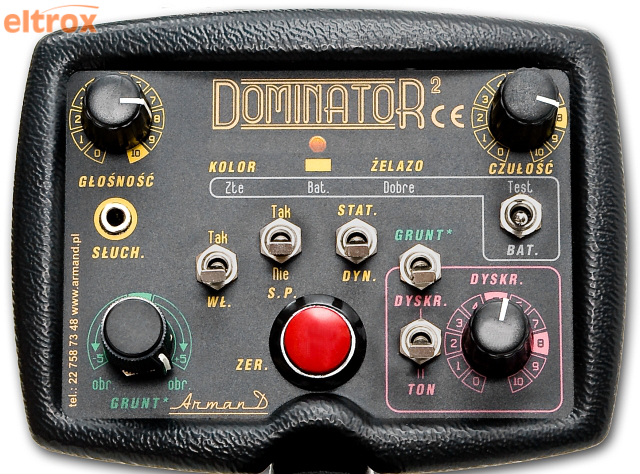 WYKRYWACZ METALI DOMINATOR 2