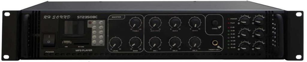 WZMACNIACZ 100V  ST-2350BC/MP3+FM+IR 350W