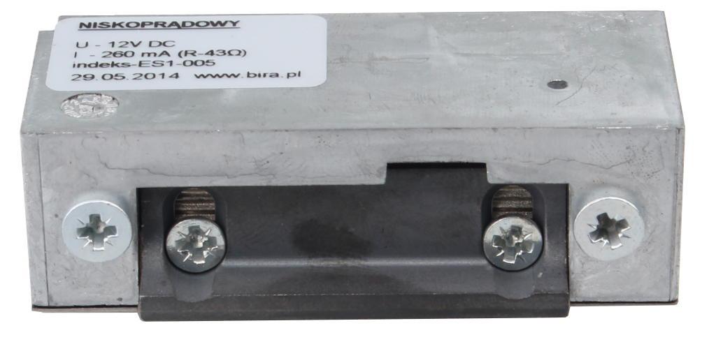 ELEKTROZACZEP BIRA ES1-005<br> (SYMETRYCZNY) 12VDC