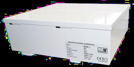 Zasilacz OC20-7 (MPL OC20-7) Do central alarmowych