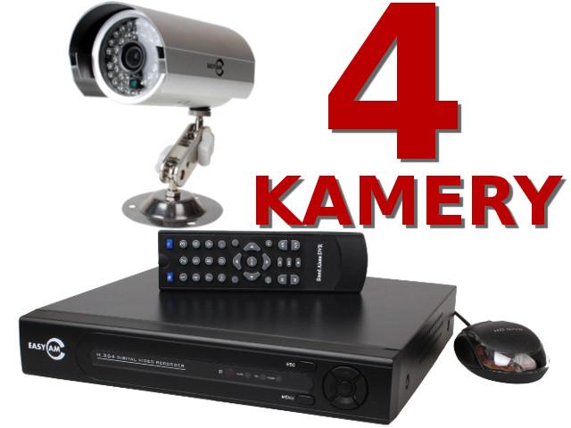 KOMPLETNY ZESTAW DO MONITORINGU OPARTY O REJESTRATOR EASYCAM IRBIS 25KL/SEK NA WSZYSTKICH KANAŁACH, USB, PENTAPLEX